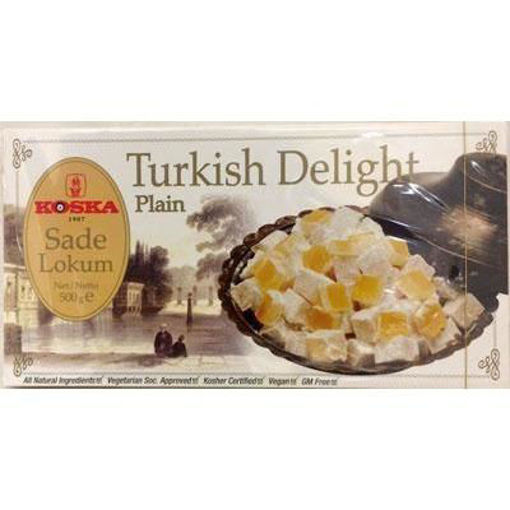KOSKA Turkish Delight Plain 500g resmi