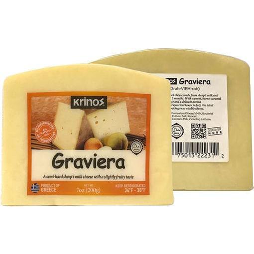 KRINOS Graviera Cheese Wedges 200g resmi