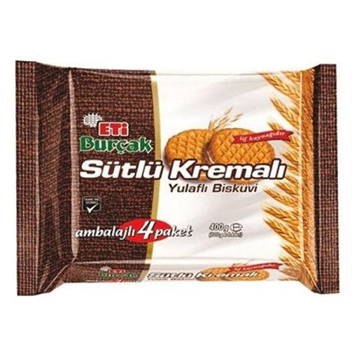 ETI Burcak Digestive Biscuits w/Cream 400g resmi