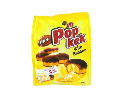 ETI Pop Kek Banana Mini Cakes (Individual 8 Packs) 144g resmi