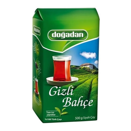 DOGADAN Gizli Bahce Turkish Black Tea 500g resmi