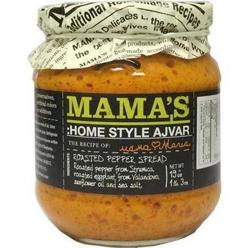 MAMA'S Ajvar Mild Roasted Pepper Spread 538g resmi