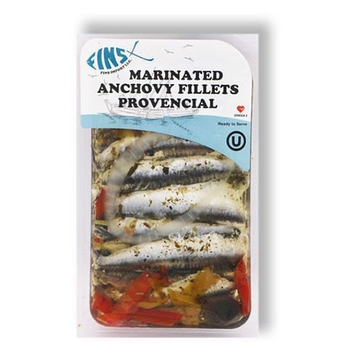 FINS Provencial Marinated Anchovy Fillets 125g resmi