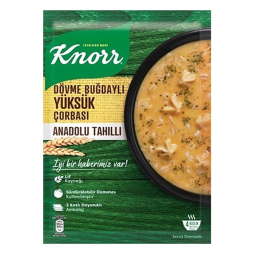 KNORR Traditional Tortellini Soup w/Buckwheat and Grains 117g resmi