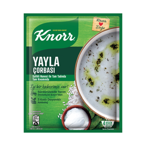 KNORR Yogurt Soup w/Rice 70g resmi