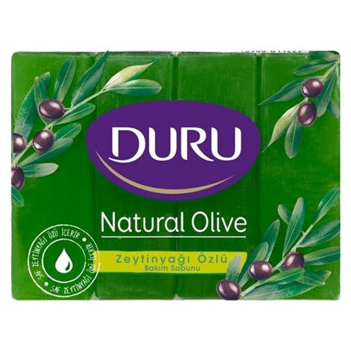 DURU Bath Soap w/ Olive Oil & Glycerine 4pk 600g resmi