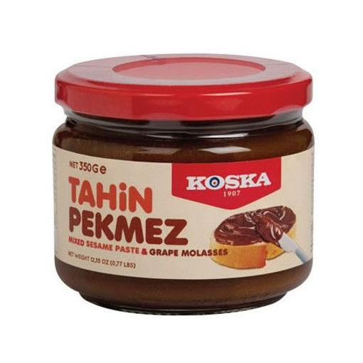 KOSKA Sesame Paste & Grape Molasses (Tahin&Pekmez) 350g resmi