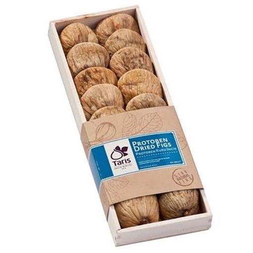 TARIS Dried Figs Protoben #4 400g in Wooden Pack resmi