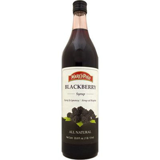 MARCO POLO Blackberry Syrup 1L resmi