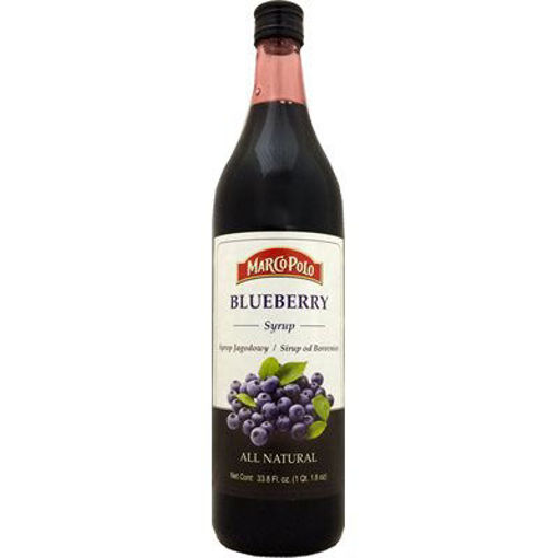 MARCO POLO Blueberry Syrup 1L resmi