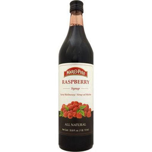 MARCO POLO Raspberry Syrup 1L resmi