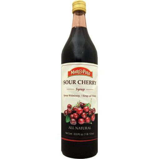 MARCO POLO Sour Cherry Syrup 1L resmi