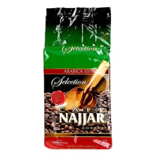 CAFE NAJJAR Ground Coffee w/Cardamom 200g resmi