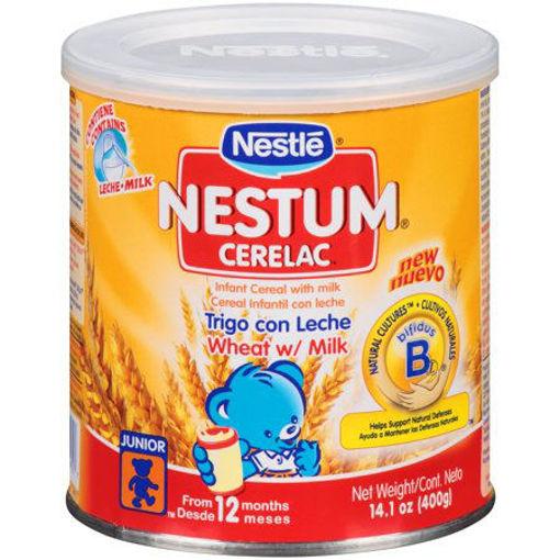 NESTLE Nestum Cerelac Wheat w/Milk 400g resmi