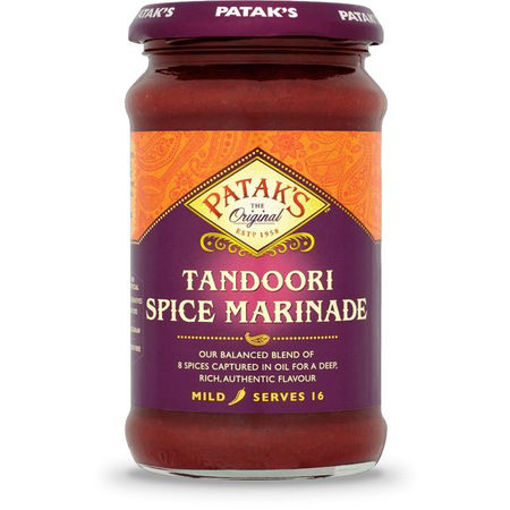 PATAK'S Tandoori Marinade Spice Paste 283g resmi