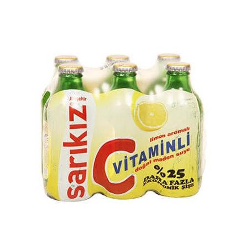 SARIKIZ C-Vitamin Mineral Water 6 x 200ml resmi