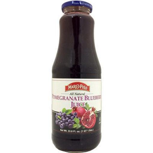 MARCO POLO Pomegranate & Blueberry Juice 1L resmi