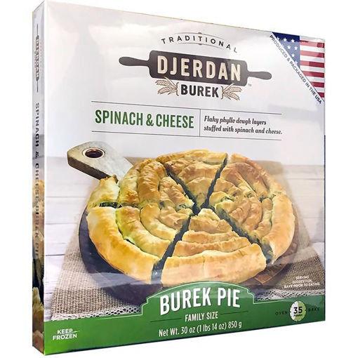 DJERDAN Burek Swirls w/Spinach & Cheese 850g resmi