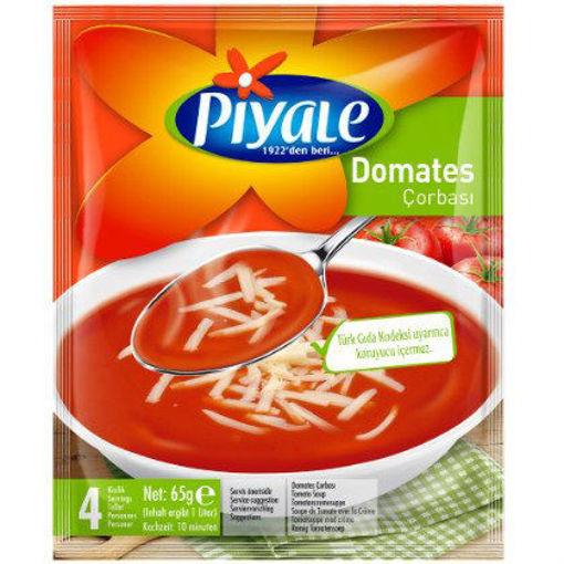 PIYALE Tomato Soup 65g resmi