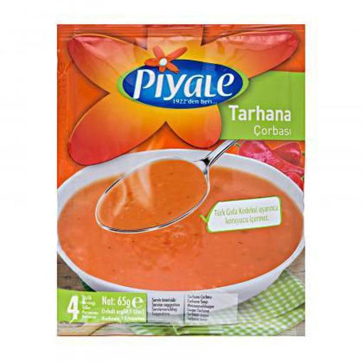 PIYALE Mild Tarhana Soup 65g resmi
