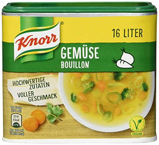 KNORR Gemuse Bouillon 320g resmi