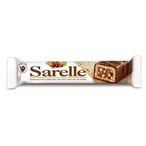 SARELLE Chocolate Wafer w/Hazelnut 33g resmi