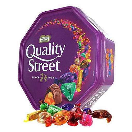 NESTLE Quality Street Assorted Chocolate 900g resmi