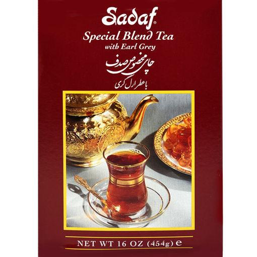 SADAF Special Blend Earl Grey Tea 454g resmi