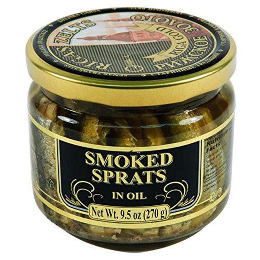 RIGA GOLD Smoked Sprats in Oil 270g resmi