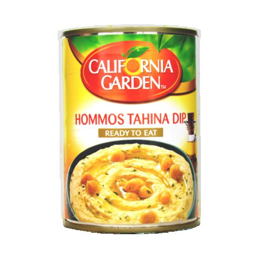 CALIFORNIA GARDEN Hummus & Tahini Dip 450g resmi
