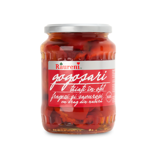 RAURENI Gogosari (Red Pepper Halves) 680g resmi