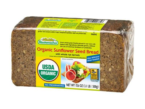 MESTEMACHER Organic Sunflower Seed Bread 500g resmi