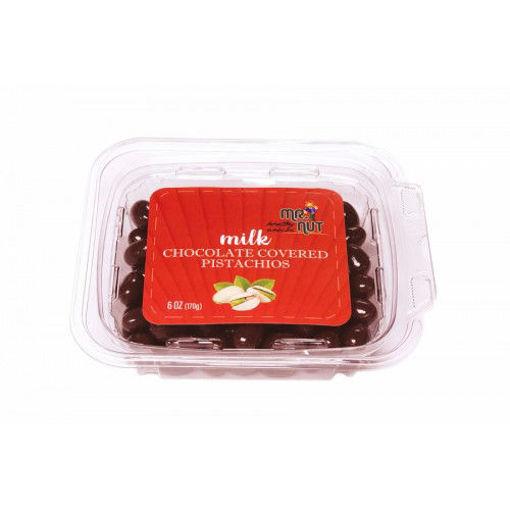 MR.NUT Milk Chocolate Covered Pistachios 170g resmi