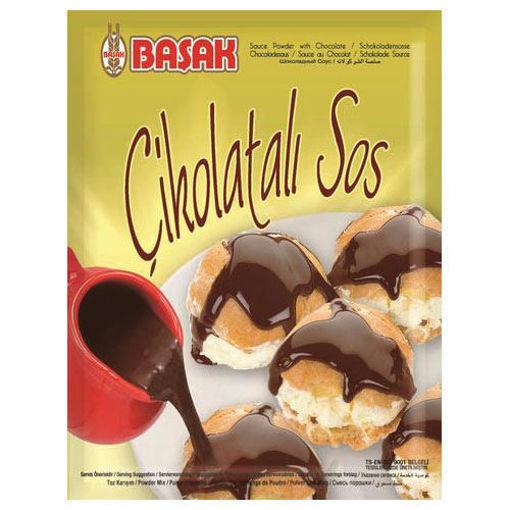 BASAK Cikolatali Sos (Chocolate Mix) 130g resmi