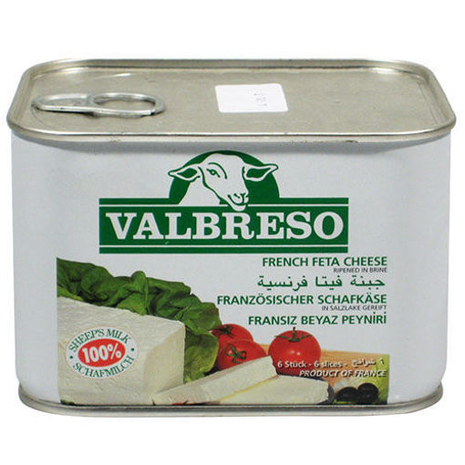 VALBRESO French Feta Cheese - 600g Net Drained Weight resmi
