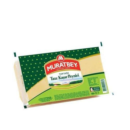 MURATBEY Fresh Kashkaval Cheese 600g resmi