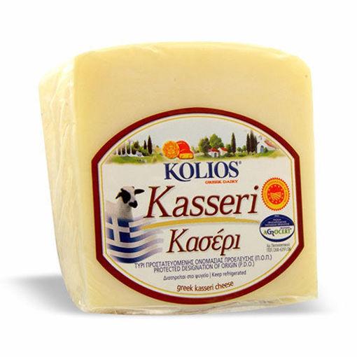 KOLIOS Kasseri Greek Cheese 226g resmi