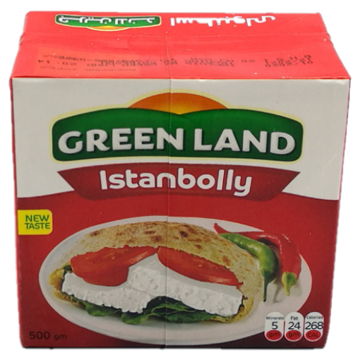 GREENLAND Istanbolly White Cheese 500g resmi