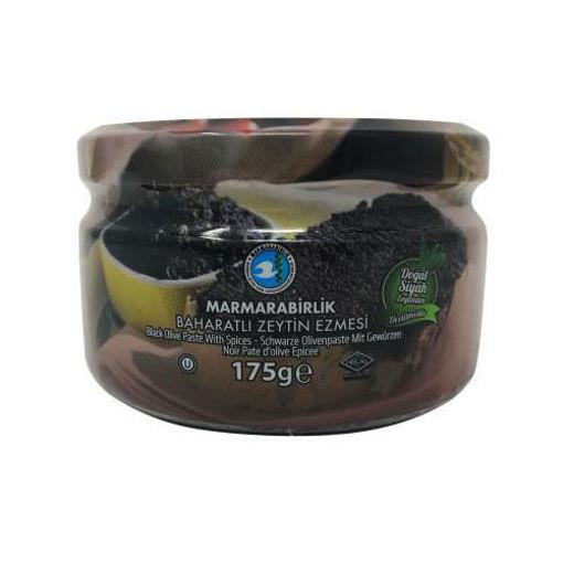 MARMARABIRLIK Black Olive Paste 175g resmi