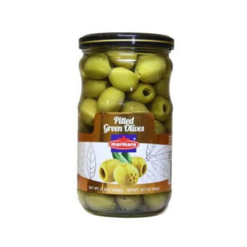 MARMARA Pitted Green Olives 400g resmi