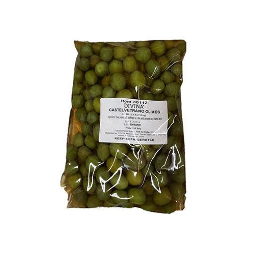 DIVINA Pitted Castelvetrano Green Olives 2kg resmi