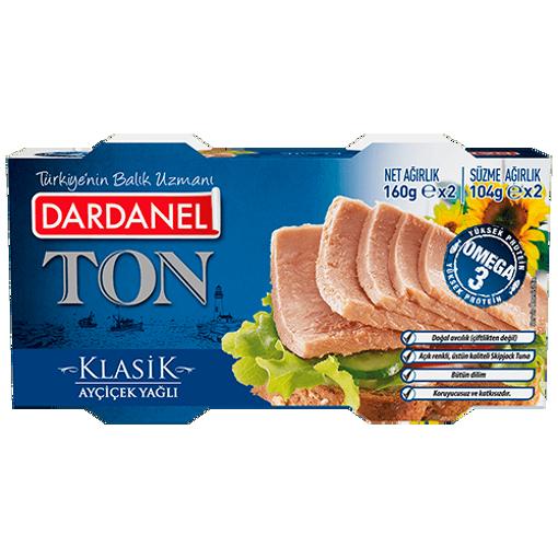 DARDANEL Tuna Fish in Oil 160g x 2pk resmi