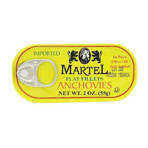 MARTEL Flat Fillets Anchovies 55g resmi