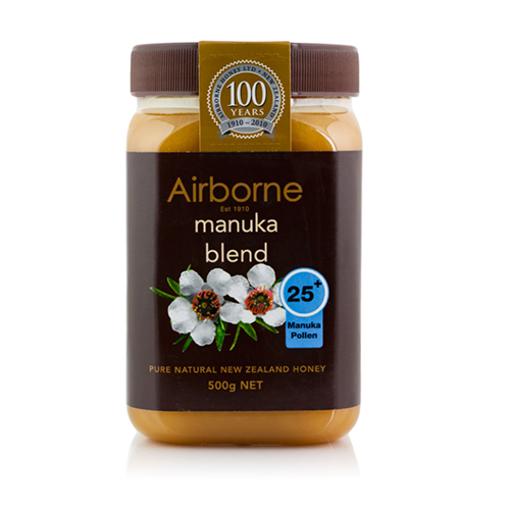 AIRBORNE Manuka Blend Pure Natural Honey  +25   500g resmi