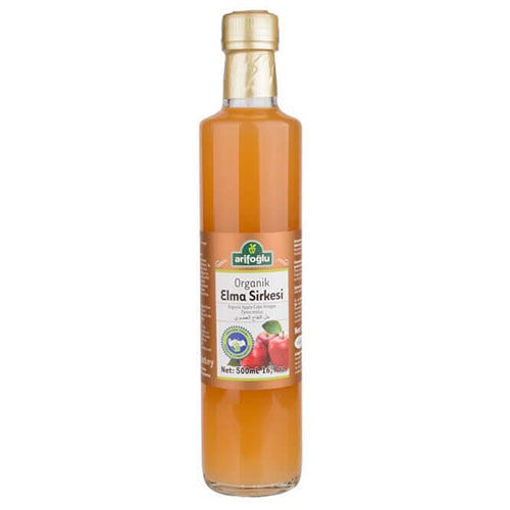 ARIFOGLU Organic Apple Vinegar 500ml resmi