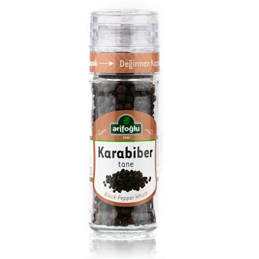 ARIFOGLU Whole Black Pepper (Tane Karabiber) 50g resmi