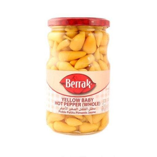 BERRAK Biberiye Pepper Pickles 720g resmi