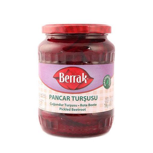 BERRAK Red Beet Pickles (Pancar Tursusu) 720ml resmi