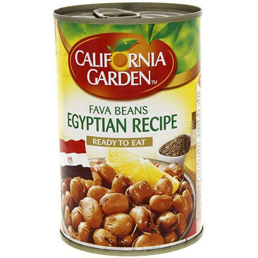 CALIFORNIA GARDEN Fava Beans Egyptian Recipe 450g resmi