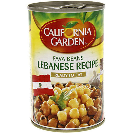 CALIFORNIA GARDEN Fava Beans Lebanese Recipe 450g resmi